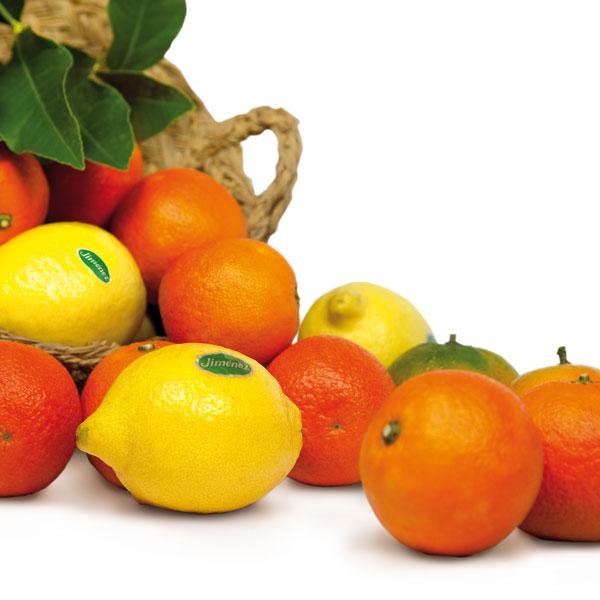 Calendarios - Cesta productos Naranjas Jiménez