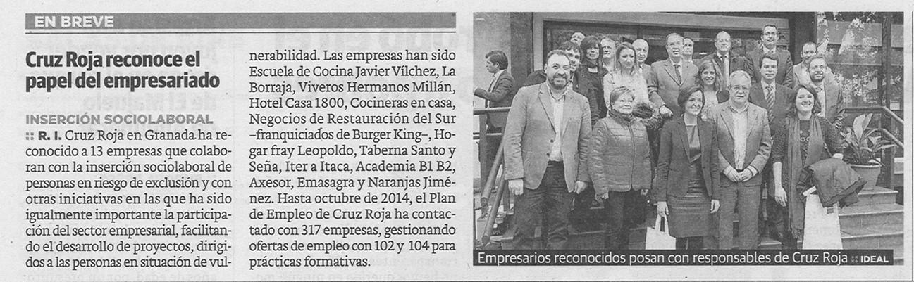 Reconocimiento Cruz Roja a Naranjas Jiménez. Naranjas Jiménez #SiLaVidaTeDaNaranjas #NaranjasJimenez www.naranjasjimenez.com