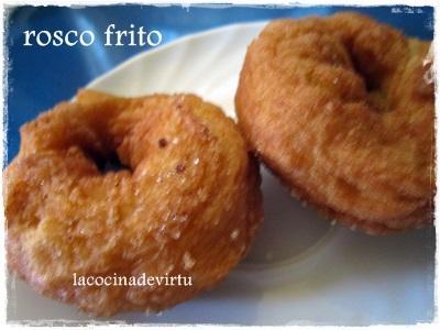Roscos fritos con Naranja | Recetas - Naranjas Jiménez